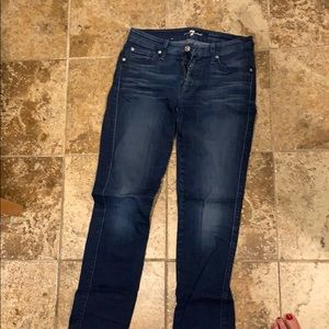7 for All Mankind Kimmie Straight Leg Jean Size 28